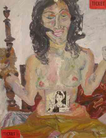 amatour frivolity, oil, 2009