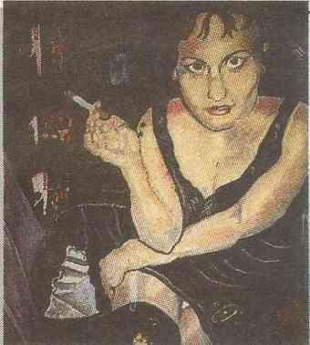 Lani, oil, 1997
