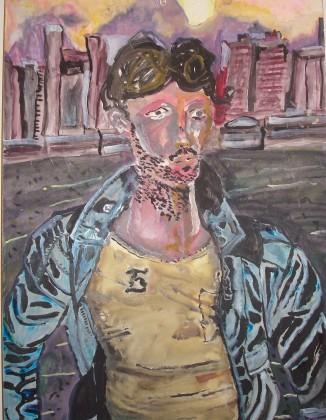 Paolo, watercolor, 2007