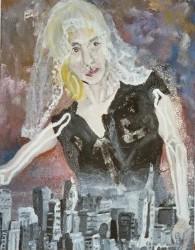 veil, oils, 2001